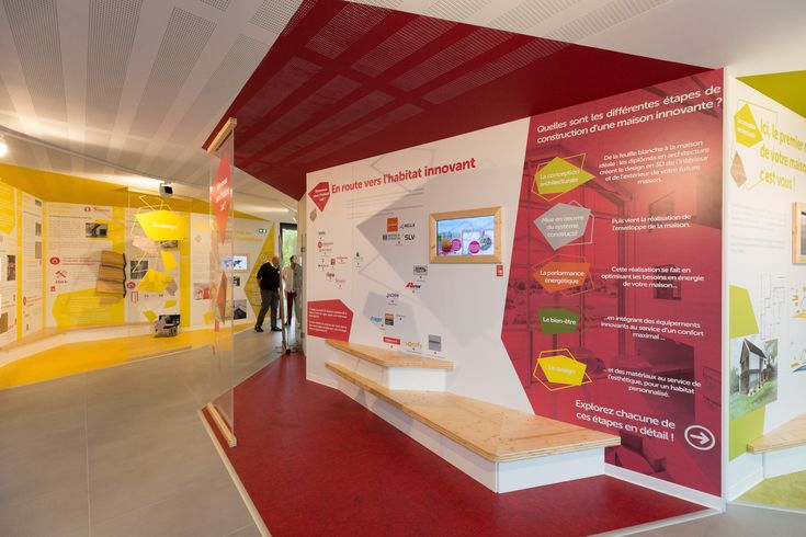 Habitat Lab - Introduction d'un espace à toutes vos questions sur l'habitat et la construction haute performance à Convivium Crédit Photos : Olivier Liévin