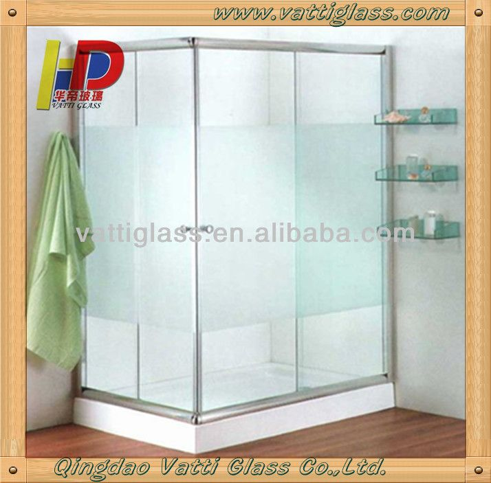 bao de vidrio esmerilado puerta de bao puerta corredera de cristal vidrio bao puertas de entrada with puertas de bao de vidrio
