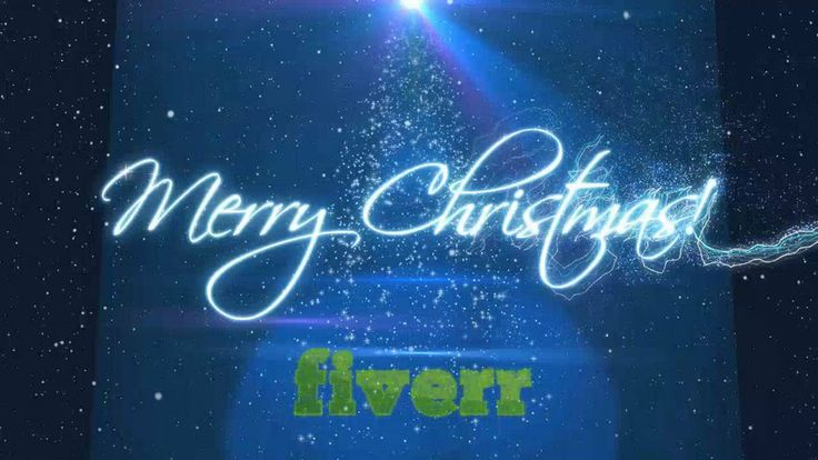chavrix: delight You With This Cool Merry CHRISTMAS Video for $5, on fiverr.com