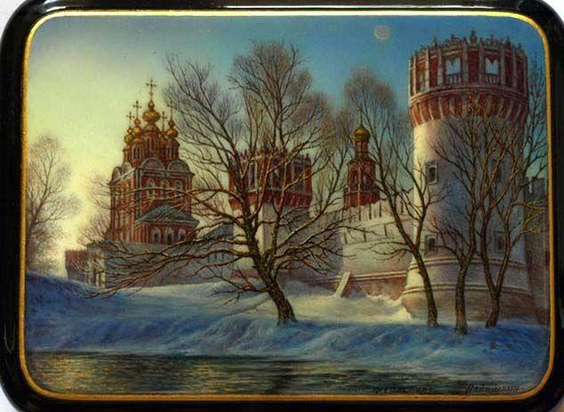 Русские купола. Новодевичий монастырь