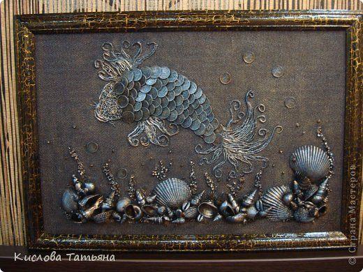 Декор предметов Картина панно рисунок Ассамбляж новые работы фото 1