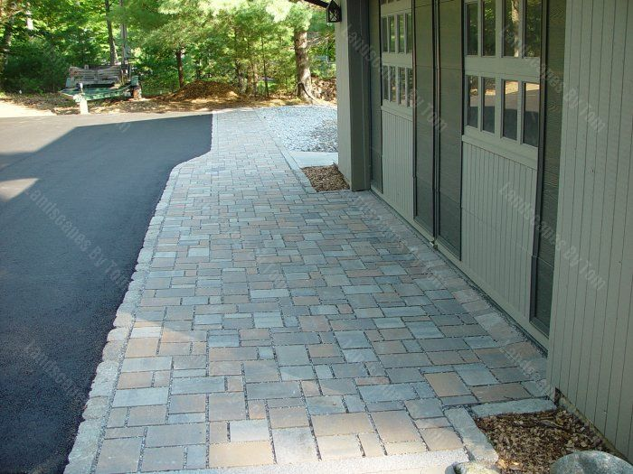 Garage Apron Stone Projects Google Search Pennsylvania