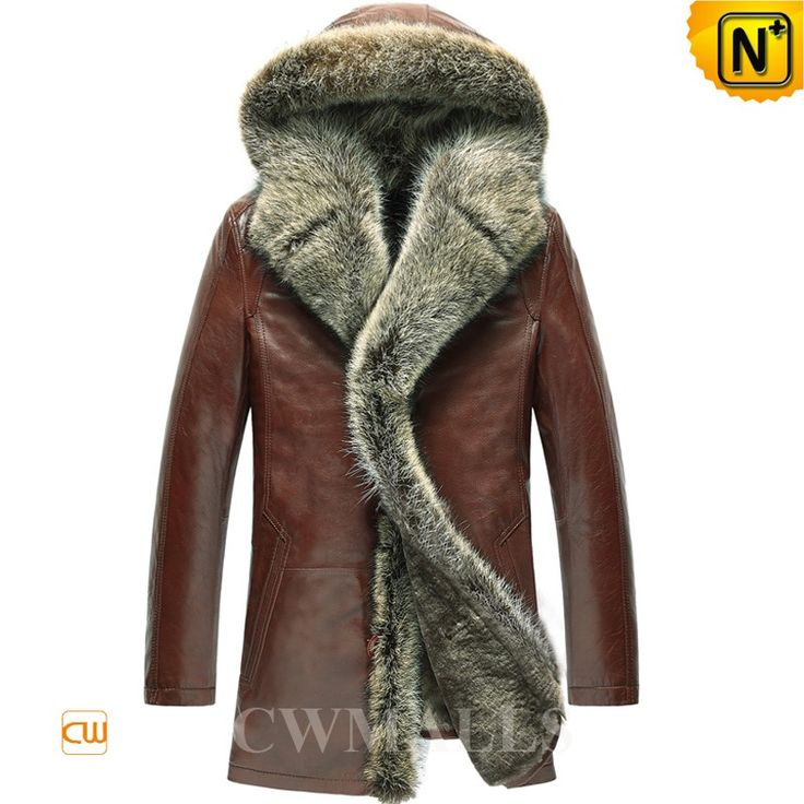CWMALLS Mens Fur Coat with Hood CW855303 Luxurious fur shearling coat with hood featuring with raccoon fur trim hood, supple lambskin leather shell and lavish shearling insulation. Raccoon fur adorns long front placket and the warm hood shearling coat is your best choice for chilliest winter. www.cwmalls.com PayPal Available (Price: $1615.89) Email:sales@cwmalls.com