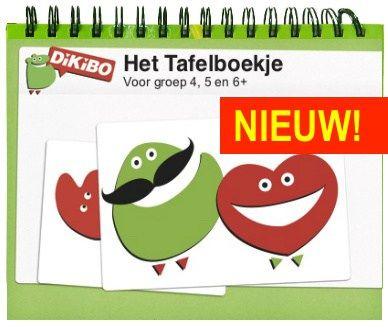 Het DiKiBO Tafelboekje Print Edition