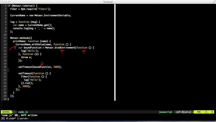 We can bind a function to the current value of all the environment variables by using Meteor.bindEnvironment.