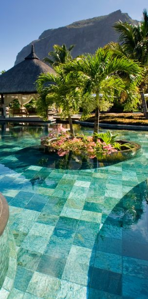 Pools, beaches and kitesurfing...this place has it all. Mauritius