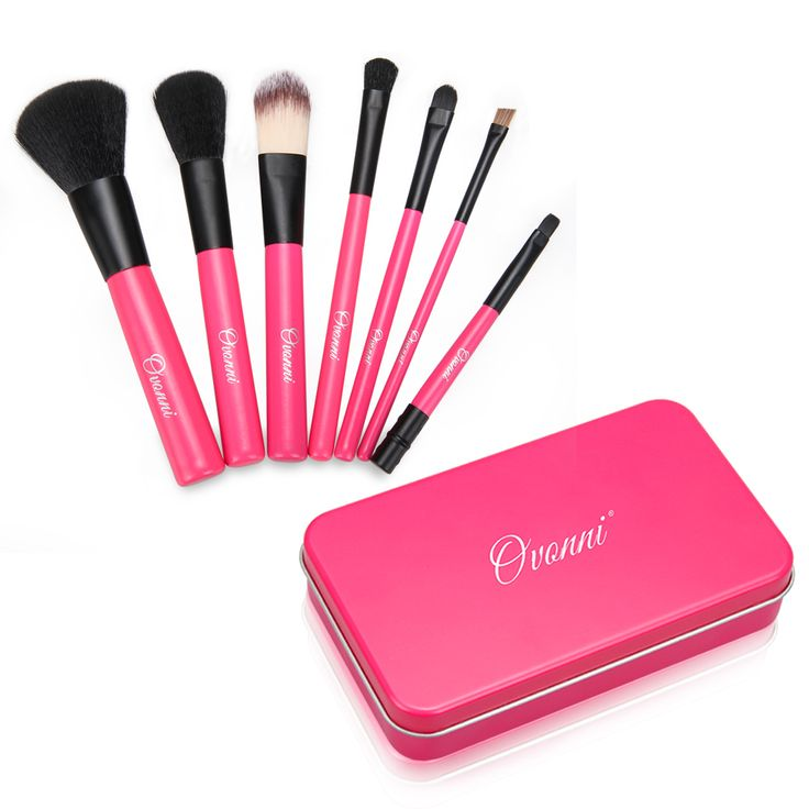 hot pink makeup brushes. coming soon is ovonni mt024 7pcs cosmetic makeup brush tools kit hot pink http:/ brushes s