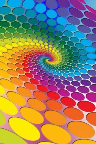Colored Dots moment love. Wild Fauna Love