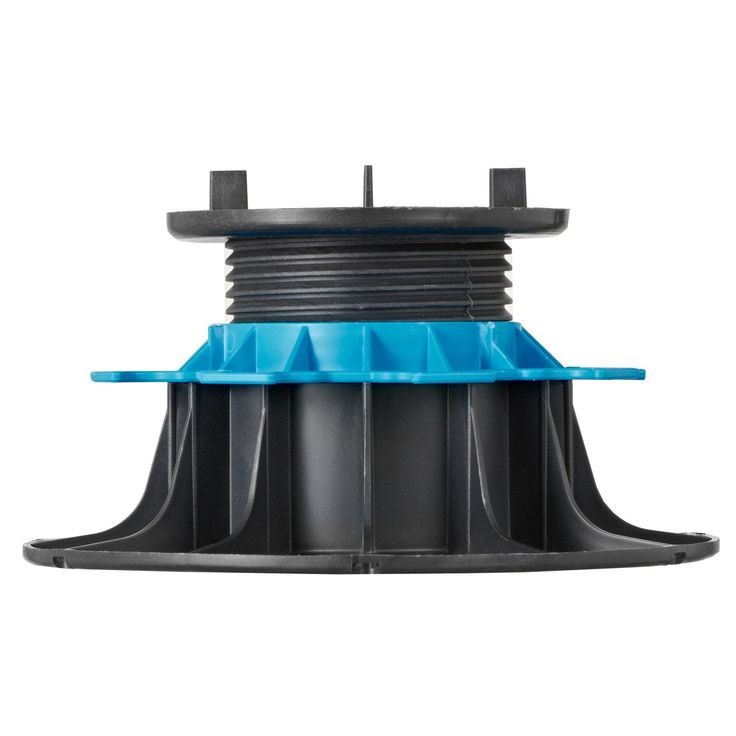 Adjustable Pedestal 90 150 Mm For Wooden Deck Rinno Plots Unit Wooden Decks Outdoor Flooring Pedestal
