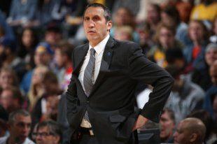 David Blatt was in his second season as the Cavaliers' head coach. (Getty Images)