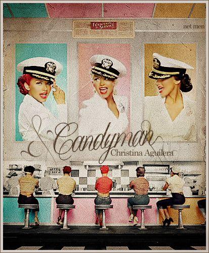 Christina Aguilera - Candyman by netmen (old blends), via Flickr