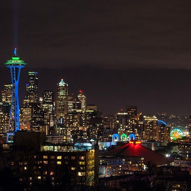 """Beat the Packers today Seahawks! | Photo by @mynameismarcusklotz | Tag your photos #LiveWashington | #Seattle #Seahawks #GoHawks"""