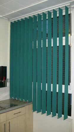 Persiana Vertical pvt  (verde)