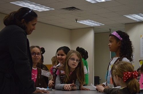 See what these Girl Scouts learned at Cookie College at Houston Community  College in my Examiner story.