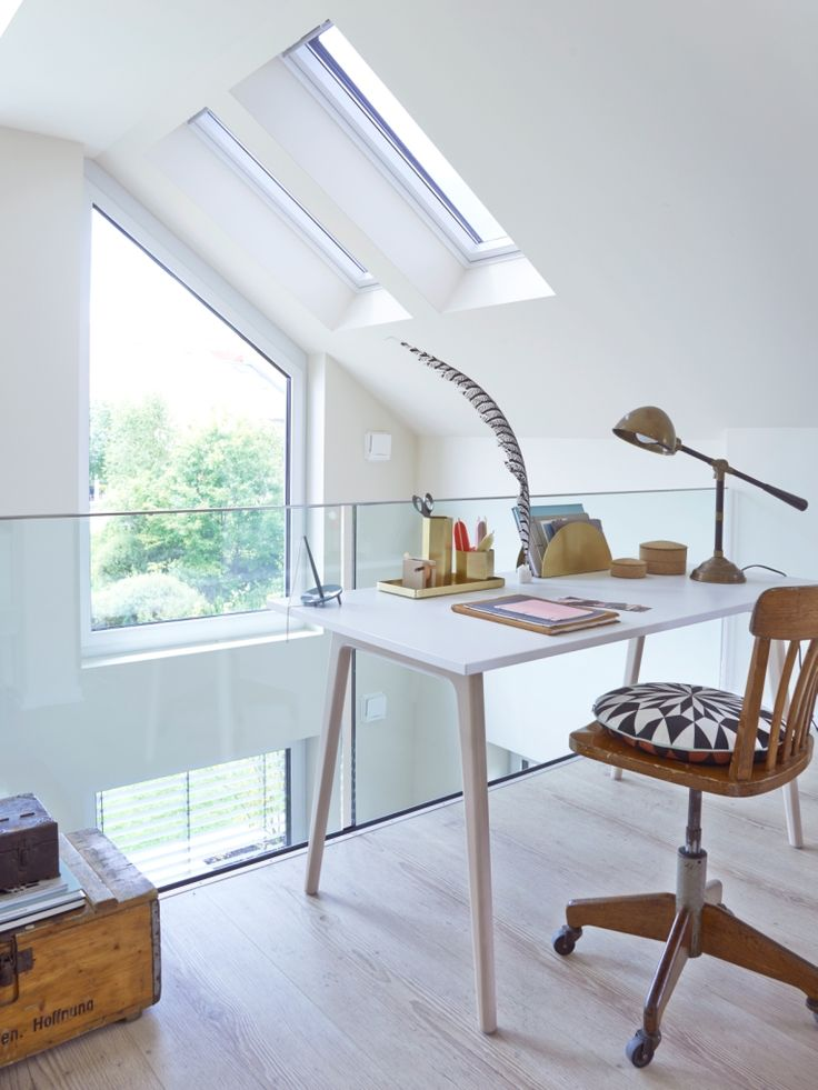 Wohnideen Haus 2015 203 best pensare in mansarda images on attic office