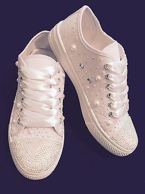 Свадьба в стиле кроссовки converse персонализированные жемчуг стразами лифта, 3, 4, 5, 6, 7, 8 | Одежда, обувь и аксессуары, Свадьбы и официальные мероприятия, Свадебные туфли | eBay!