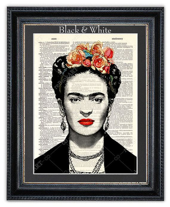 die besten 25 frida kahlo artwork ideen auf pinterest frida kahlo portr ts frida kahlo und. Black Bedroom Furniture Sets. Home Design Ideas