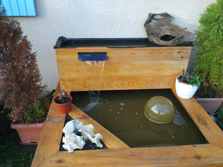 bassin preforme pour terrasse