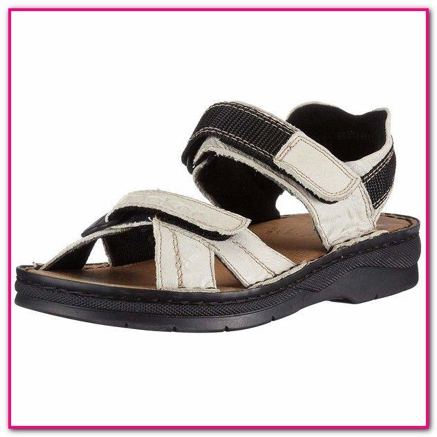 Rieker Sandalen Damen Schwarz Amazon   Sandalen damen