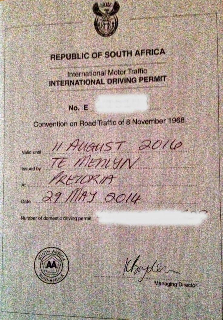 ExpedEvac: Permiso por favor? (International Driver's Licence)