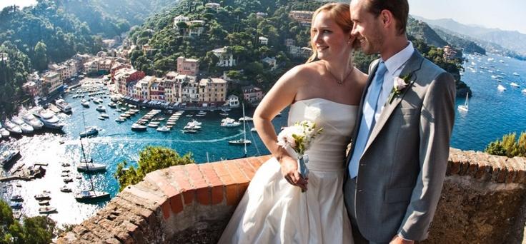 Luxury wedding in Portofino