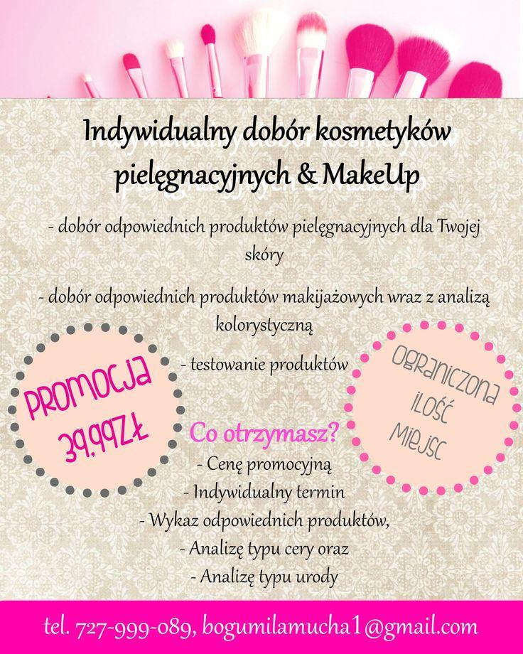 Dobór kosmetyków - pielęgnacja i make-up #kosmetyki #makeup #pielęgnacja #fmgroup #kobieta #szkolawdzieku