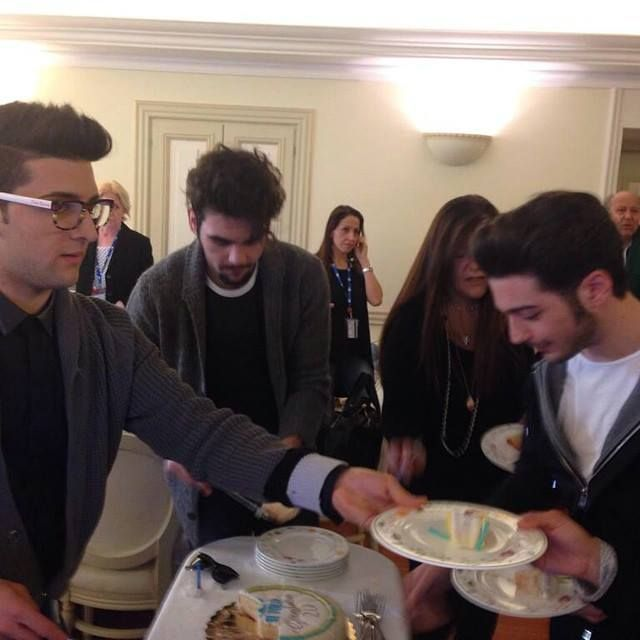 Gianluca's 20th birthday party, Feb 11th,  2015