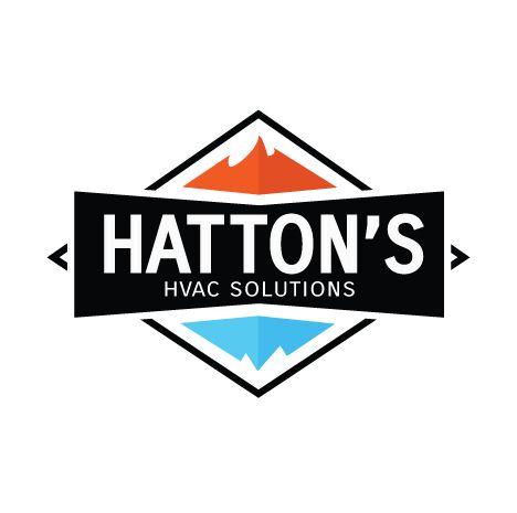 Hatton's HVAC Logo created by Titan Web Marketing Solutions. Visit us at titanwms.com.