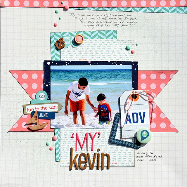 """Paper Gumbo: """"MY"""" Kevin"""