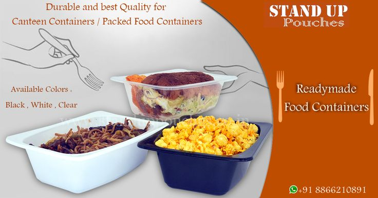 used to many #Food items such as: #SeaFood #Salads #Fruits #rice etc... more visit whatsapp. 8866210891 http://www.standuppouches.co.in/