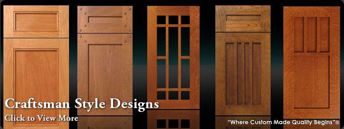 craftsman style kitchen cabinet doors 3