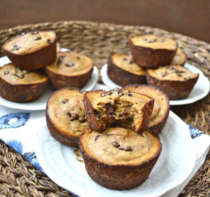 Peanut Butter Banana Protein Muffins (gluten free and ready in 15 minutes)