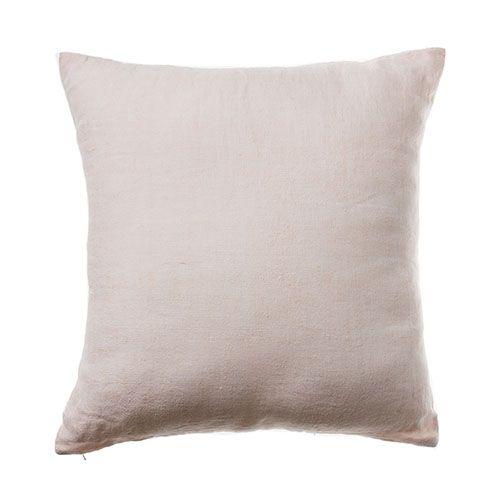 Pearl Pink Malmo Linen Cushion