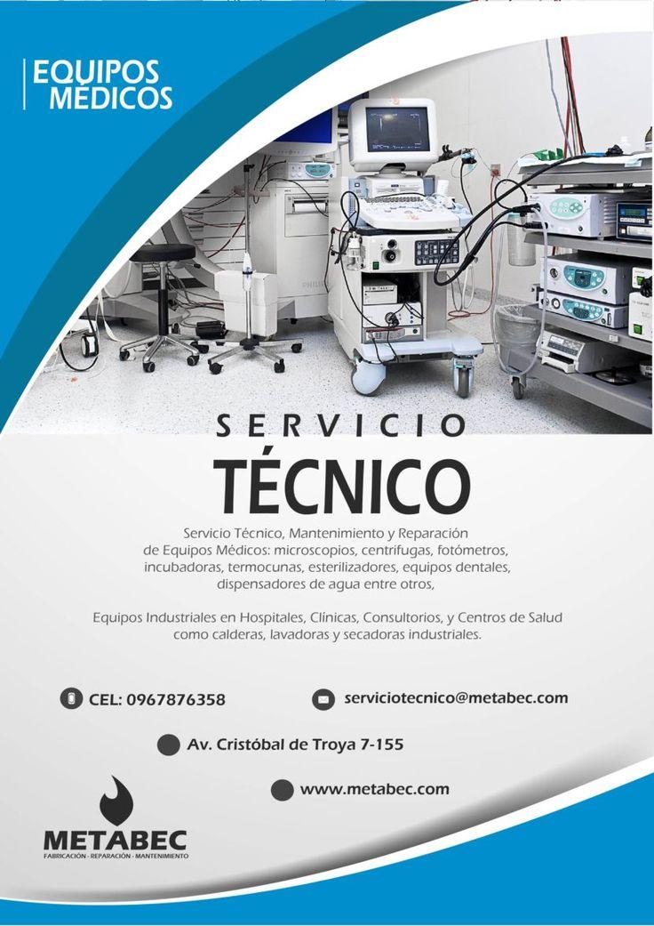 Reparación y mantenimiento de equipos médicos Ibarra Imbabura Ecuador