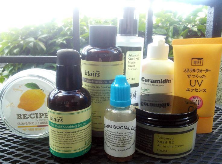 How to build your own skincare routine by fifty shades of snail