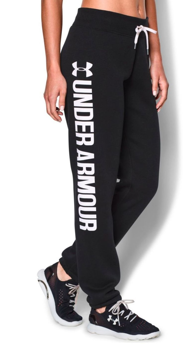 Super soft and perfect for lounging or warming up. | Under Armour fleece pants