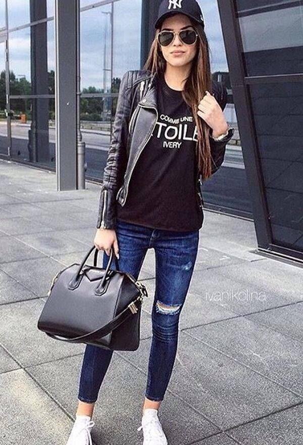 2019 Outfits Preocupación Chicas De En Relajados Para Libres tshQrdC