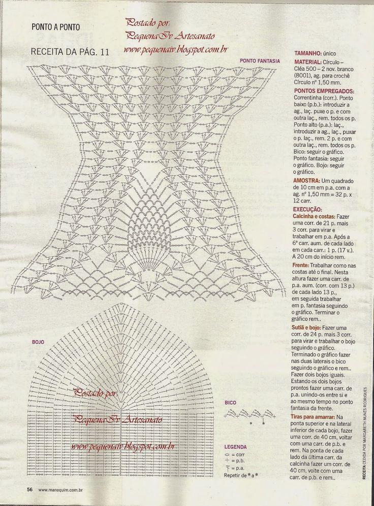 348 best crochet bikini images on Pinterest | Beachwear fashion ...