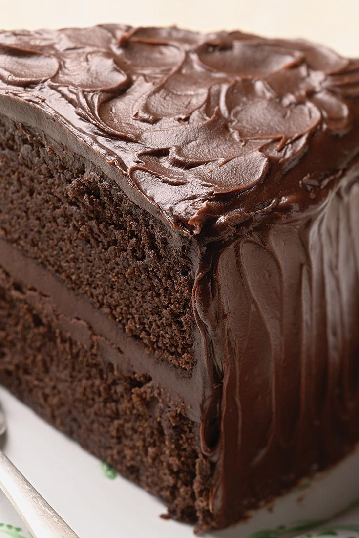 Chocolate Stout Cake  has multi-dimensional flavors and: the presence of the stout gives it a much more interesting finish; the hops from the beer act as a counterpoint to the sugar in the cake. It's an incredibly moist cake, too