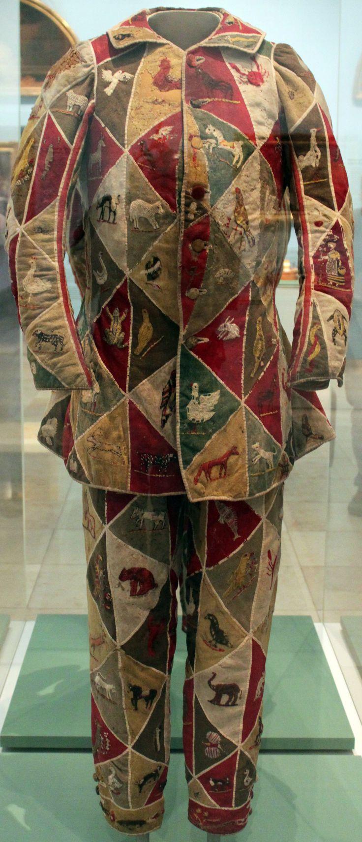 Costume of a Harlequin, 18th Century; Germanic National Museum in Nuremberg
