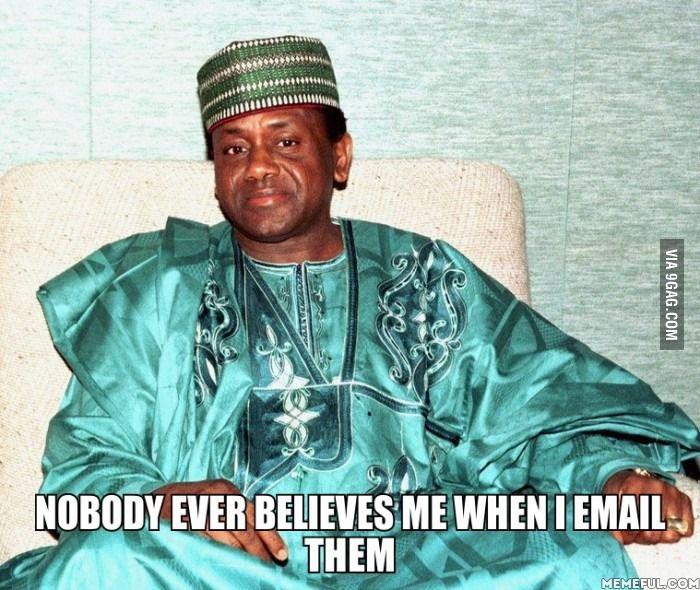 Nigerian Prince Problems