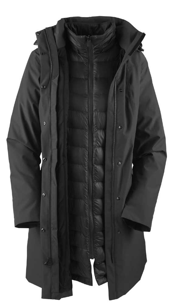 gearforgirls - The North Face Suzanne Triclimate Trench Coat, £287.95 (http://www.gearforgirls.co.uk/the-north-face-suzanne-triclimate-trench-coat/)