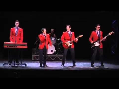 Jersey Boys tells the story of how four blue-collar boys became one of the greatest successes in pop music history. They wrote their own songs, invented their own sounds and sold 175 million records worldwide -- all before they were thirty!