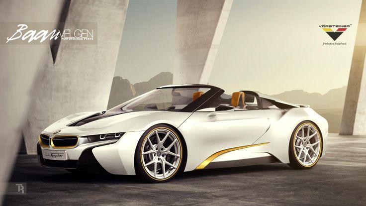 Rendered speculation: #BMW i8 Spyder tuned by Vorsteiner looks absolutely insane #tuning   http://www.4wheelsnews.com/rendered-speculation-bmw-i8-spyder-tuned-by-vorsteiner-looks-absolutely-ins/