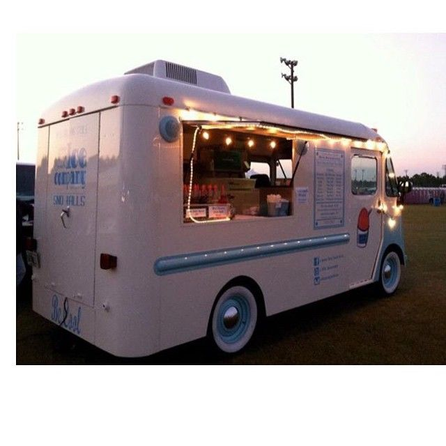 From the Twin Cities the stylin step van of the Kurb Side Ice Co. A very sweet ice cream truck.