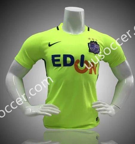 2017-18 Sanfrecce Hiroshima Green Thailand Soccer Jersey AAA