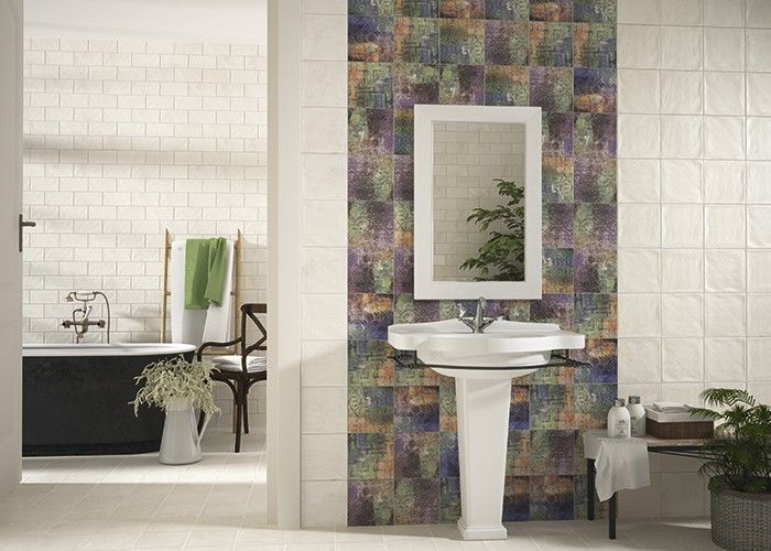 #Mainzu #Ravena Pietro Viola 20x20 cm | #Porcelain stoneware #Decor #20x20 | on #bathroom39.com at 42 Euro/sqm | #tiles #ceramic #floor #bathroom #kitchen #outdoor
