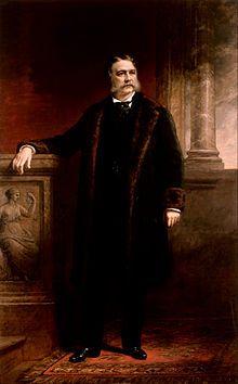 Chester A. Arthur 21st President (1881-1885)