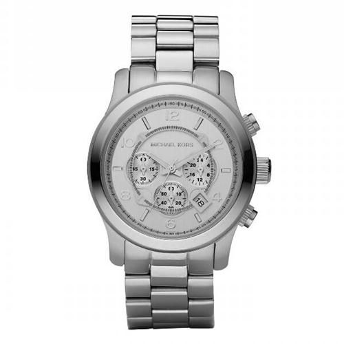Michael Kors Runway Chronograph Silver Watches Are High Quality And Cheap Price! | See more about silver watches, michael kors and runway.