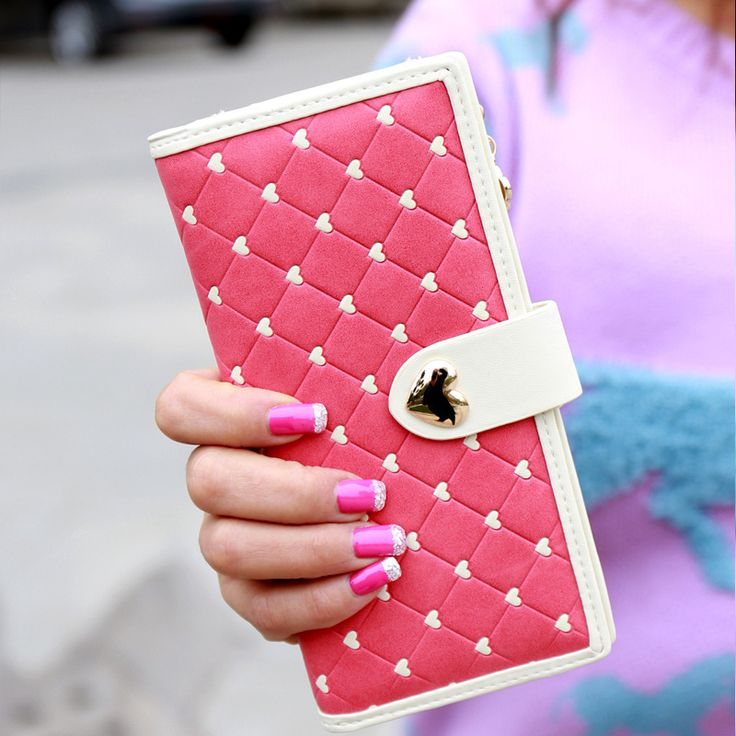 Find More Wallets Information about 2016 new Korean fashion purse cute cartoon love buckle money clip Long Wallet ladies leather wallets purses female card bag,High Quality wallet fabric,China package tables Suppliers, Cheap wallet children from Shenzhen Idea Fashion Bags Co., Ltd on Aliexpress.com